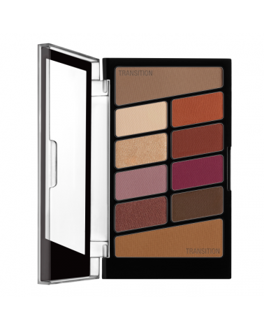 Color Icon Eyeshadow 10 Pan Palette - Rose in the Air - sis-style.gr