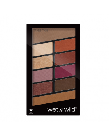 Color Icon Eyeshadow 10 Pan Palette - Rose in the Air at SIS STYLE