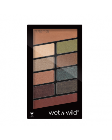 Color Icon Eyeshadow 10 Pan Palette - Comfort Zone at SIS STYLE
