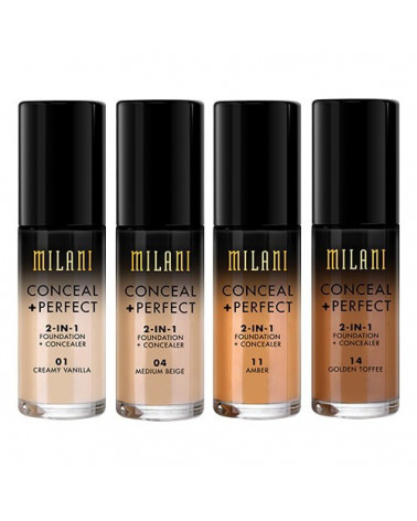 Milani Conceal + Perfect 2-IN-1 Foundation (30ml) at SIS STYLE