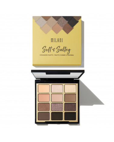 Milani Soft & Sultry Eyeshadow Palette - sis-style.gr
