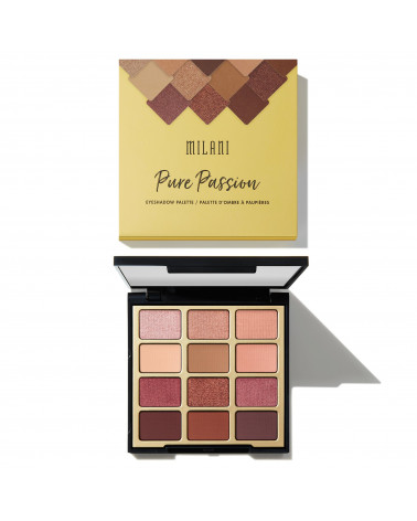 Milani Pure Passion Eyeshadow Palette - SIS STYLE