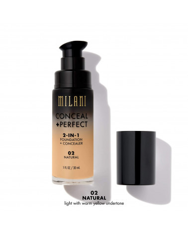 Milani Conceal + Perfect 2-IN-1 Foundation (30ml) - SIS STYLE