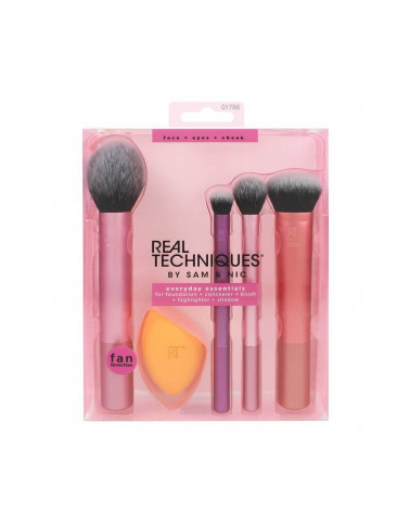 Real Techniques Everyday Essentials Brush Set - sis-style.gr
