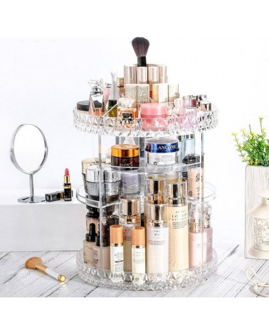 Rotating Stand Cosmetics organization, at SIS STYLE