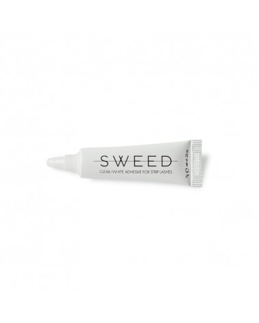 Sweed Adhesive for Strip Lashes Clear/White - sis-style.gr