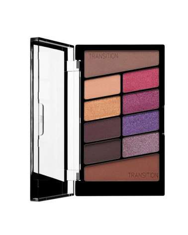 Color Icon Eyeshadow 10 Pan Palette - V.I.Purple at SIS STYLE