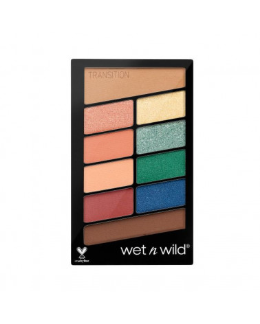 Color Icon Eyeshadow 10 Pan Palette - Stop Playing Safe - SIS STYLE