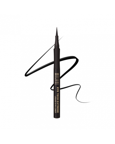 Milani Eye Tech Extreme Liquid Eyeliner Pen Black at SIS STYLE