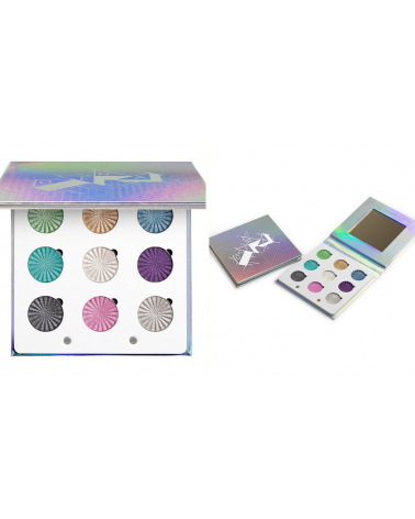 Ofra Cosmetics Glitch Baked Eyeshadow Palette - SIS STYLE