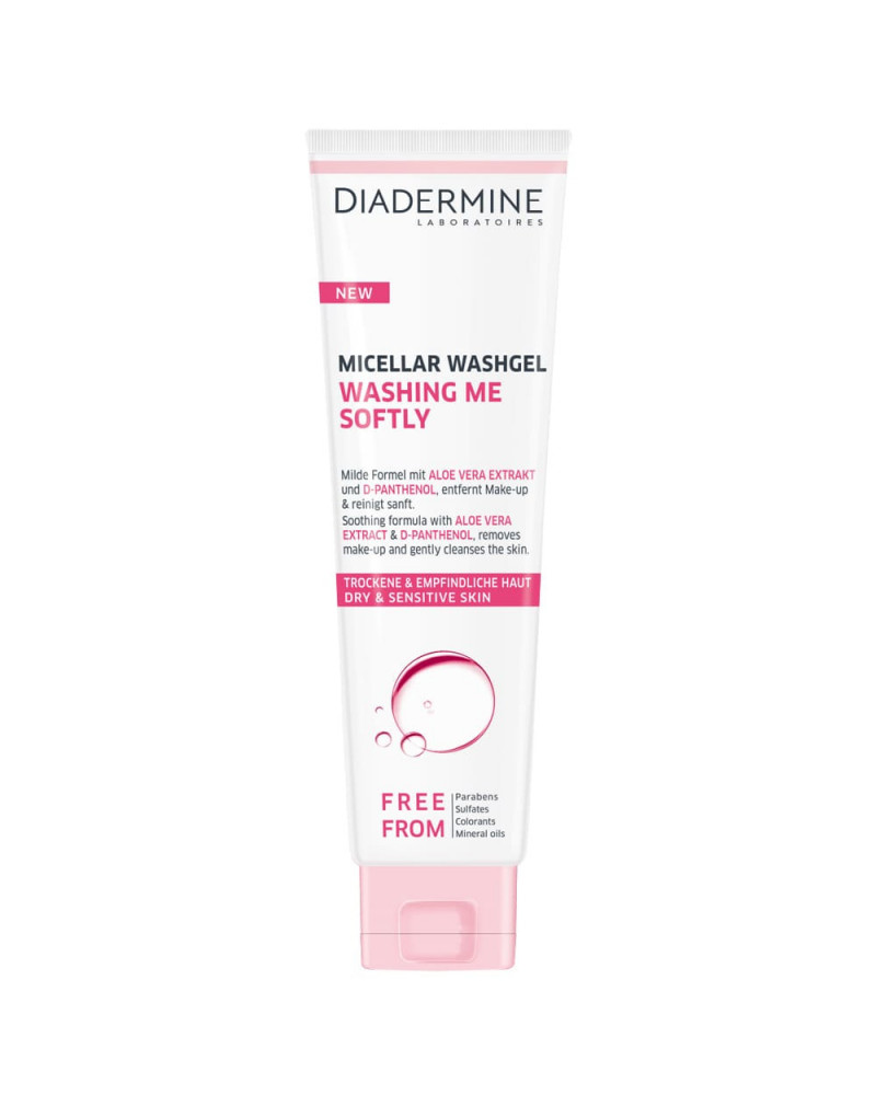 Diadermine Gel Καθαρισμού Micellar Washing Me Softly (150ml) - SIS STYLE