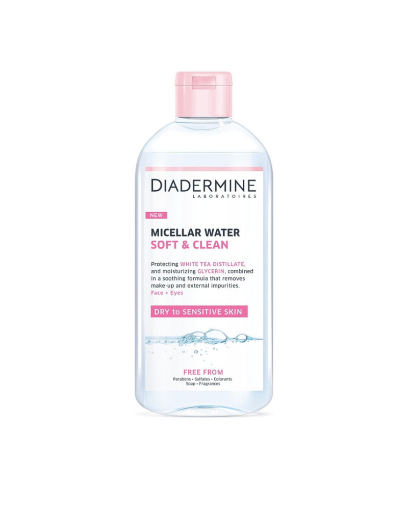 Cleanser Micellar Water Soft & Clean (400ml) - SIS STYLE
