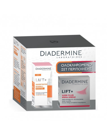 Diadermine Lift+ Superfiller Day Cream & Booster Vitamin C - sis-style.gr