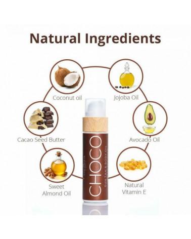 COCOSOLIS ORGANIC - CHOCO Sun Tan Body Oil at SIS STYLE