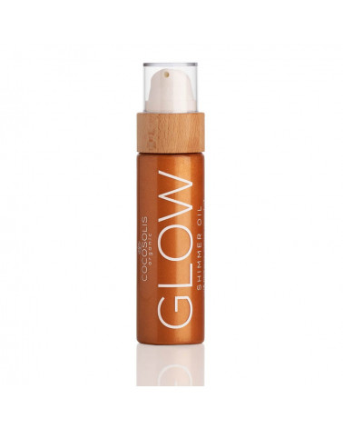 Cocosolis Organic - GLOW SHIMMER oil at SIS STYLE