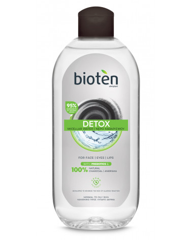 Bioten DETOX Micellar Water normal to oily skin 400ml at SIS STYLE