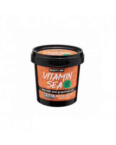 Beauty Jar VITAMIN SEA Άλατα Μπάνιου Κατά Της Κυτταρίτιδας 200gr - SIS STYLE