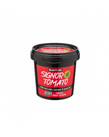 Beauty Jar Body Scrub Signor Tomato at SIS STYLE