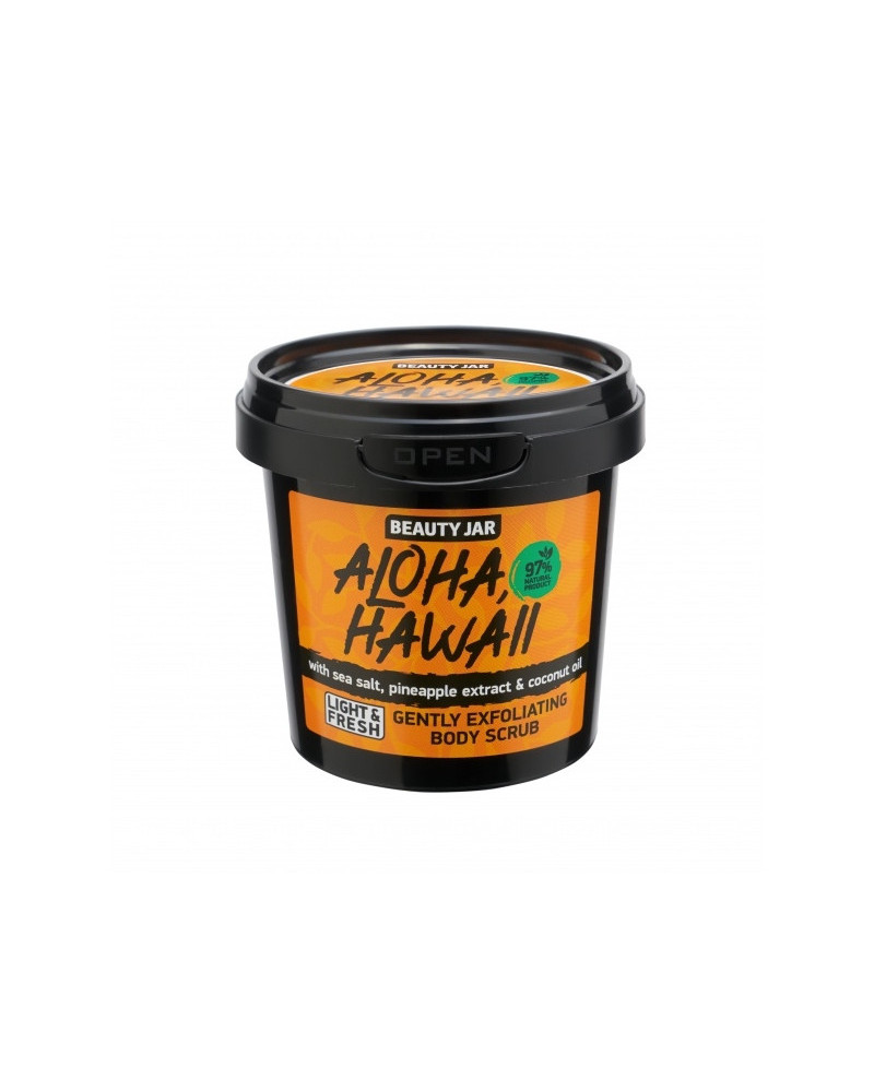 Beauty Jar Body Scrub Aloha, Hawaii at SIS STYLE