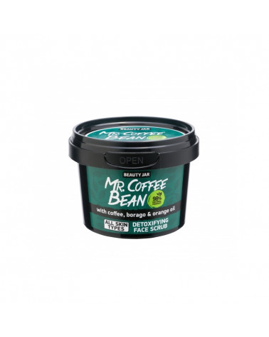 Beauty Jar Face Scrub Mr. Coffee Bean at SIS STYLE