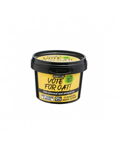 Beauty Jar VOTE FOR OAT! Μάσκα/Scrub Προσώπου 100gr - SIS STYLE