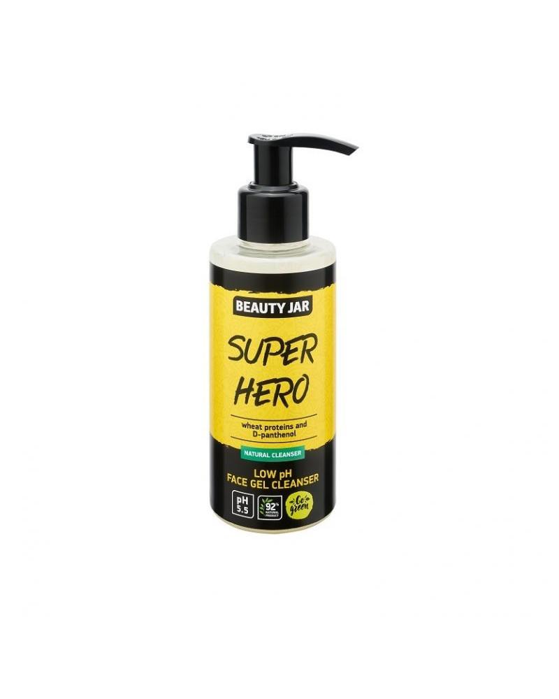 Beauty Jar Cleansing Gel SUPER HERO 150gr - sis-style.gr
