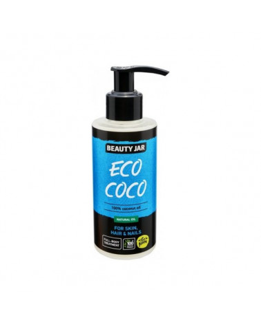 Beauty Jar ECO COCO 100% Έλαιο Καρύδας 150ml - SIS STYLE