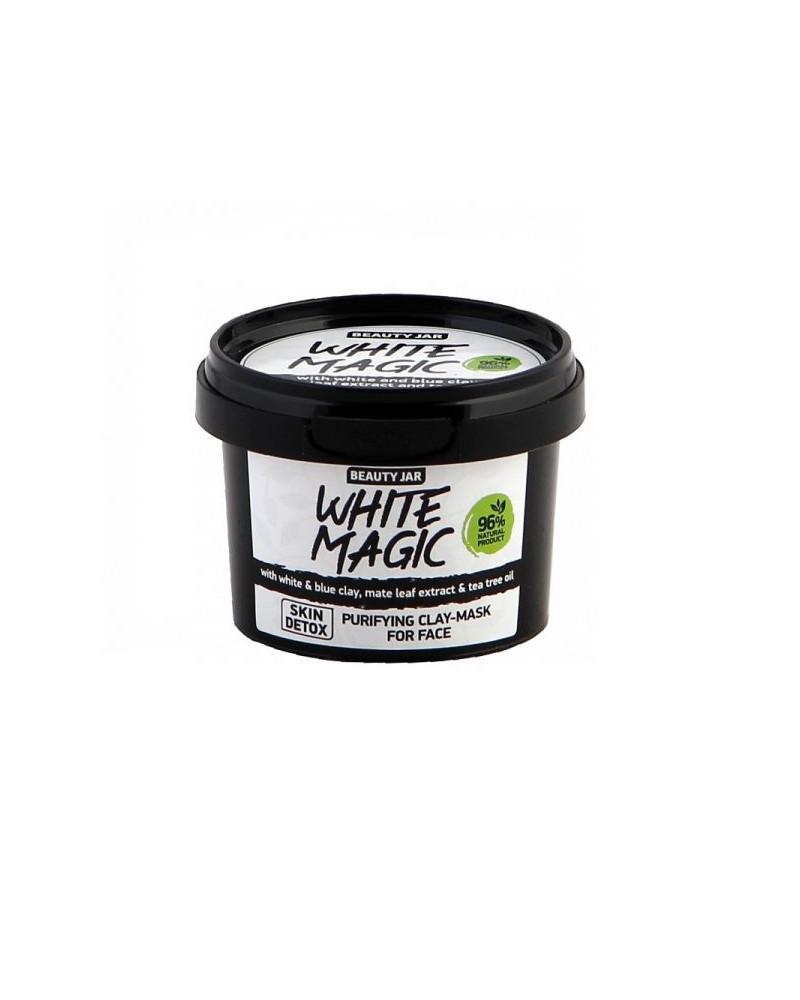 Beauty Jar WHITE MAGIC Μάσκα Λεύκανσης Για Το Πρόσωπο 140gr - SIS STYLE