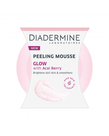 Diadermine Peeling Mousse Glow with Acai Berry 75ml at SIS STYLE