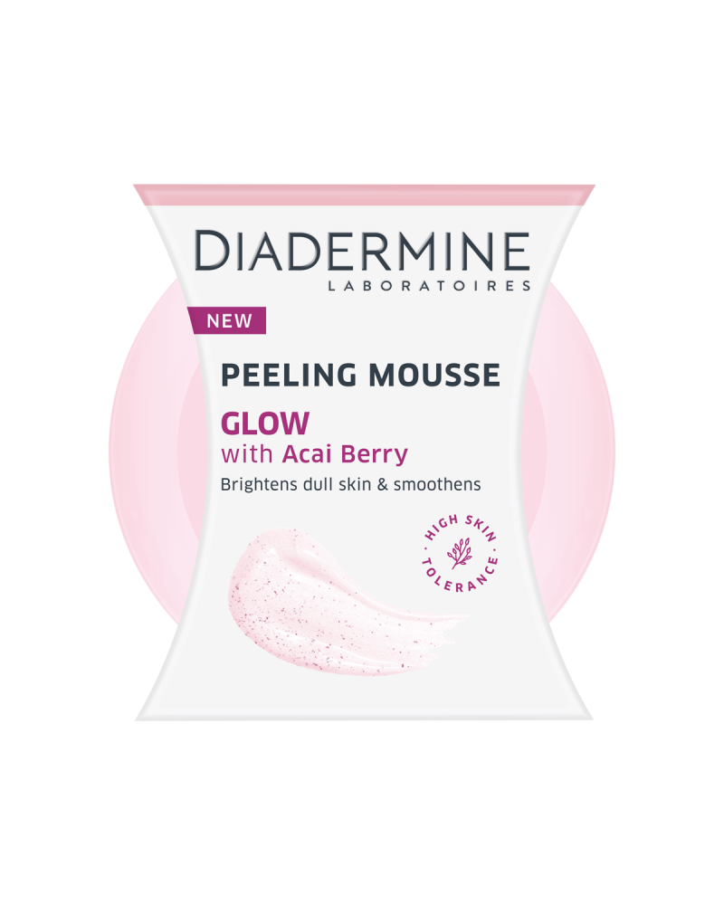 Diadermine Peeling Mousse Glow with Acai Berry 75ml - SIS STYLE