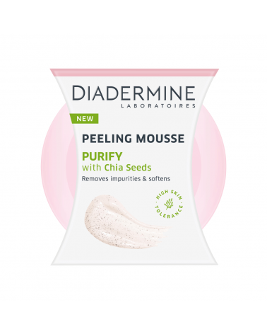 Diadermine Peeling Mousse Purify with Chia Seeds 75ml - SIS STYLE