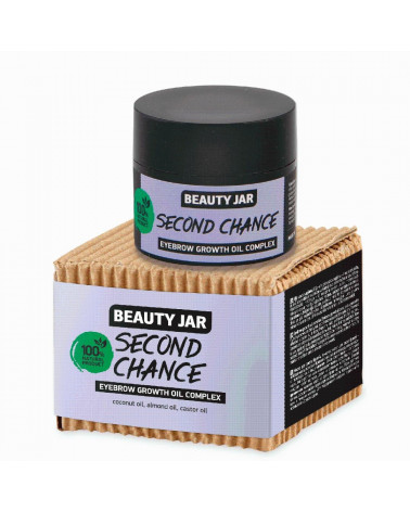 Beauty Jar Eyebrow Growth Oil Complex Second Chance 15 ml - sis-style.gr