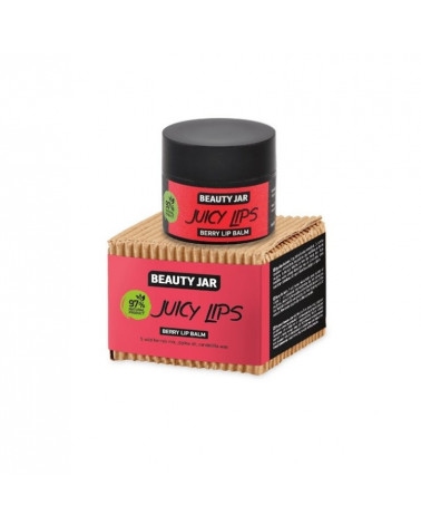 Beauty Jar JUICY LIPS Berry Lip Balm 15ml at SIS STYLE
