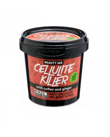 Beauty Jar CELLULITE KILLER Scrub 150gr at SIS STYLE