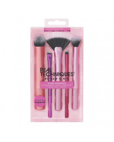 Real Techniques Everyday Essentials Brush Set - SIS STYLE