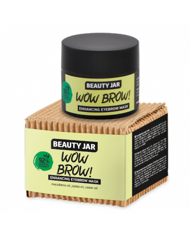 Beauty Jar WOW BROW Enhancing Eyebrow Mask 15ml at SIS STYLE