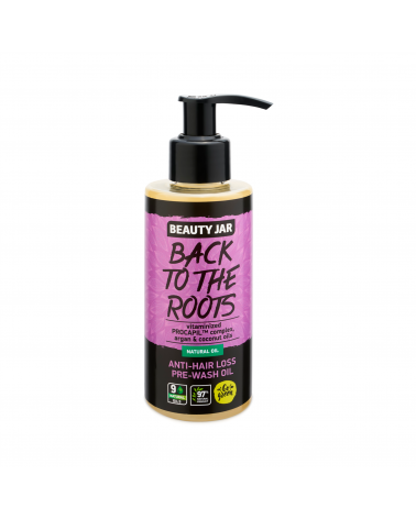 Beauty Jar BACK TO THE ROOTS Anti-hair loss oil 150ml - sis-style.gr