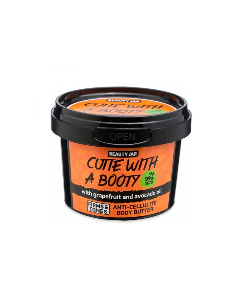 Beauty Jar CUTIE WITH A BOOTY Anti-cellulite body butter 90gr - sis-style.gr