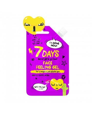 7 DAYS EMOTIONS Face Peeling Gel 25ml - sis-style.gr