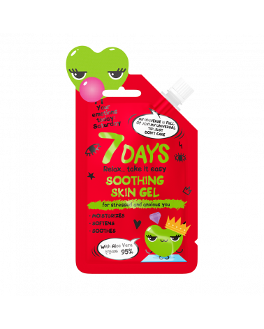 7 DAYS EMOTIONS Soothing Skin Gel 25ml at SIS STYLE