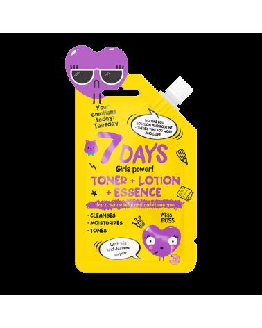 7 DAYS EMOTIONS Toner+Lotion+Essence 20ml - SIS STYLE