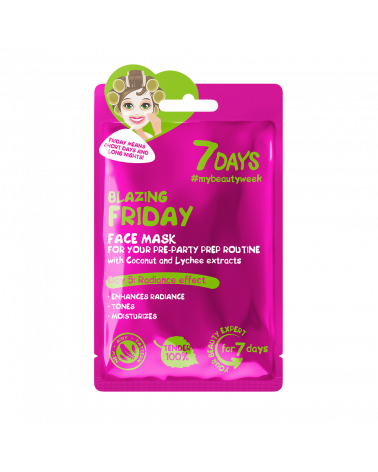 7 DAYS Blazing Friday Sheet Mask 28g - sis-style.gr