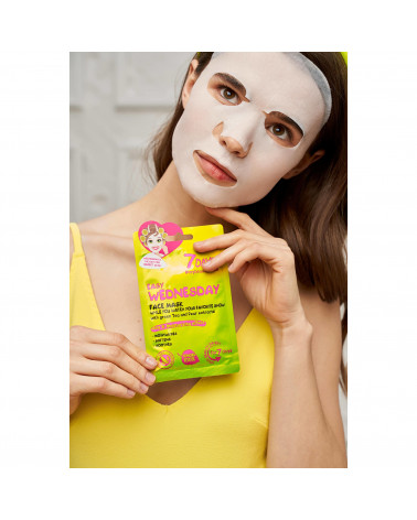 7 DAYS Easy Wednesday Sheet Mask 28g - sis-style.gr