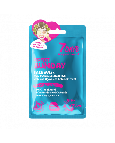 7 DAYS Perfect Sunday Sheet Mask 28g - sis-style.gr