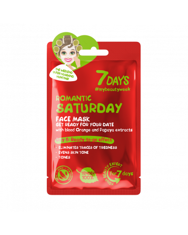 7 DAYS Romantic Saturday Sheet Mask 28g - sis-style.gr