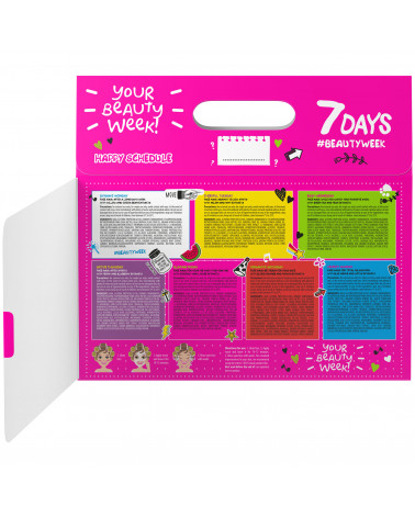 7 DAYS Gift set Beauty Calendar, 8 MASKS (mix) - sis-style.gr