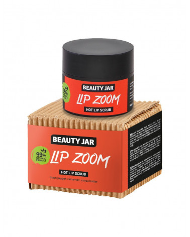 Beauty Jar LIP ZOOM Hot Lip Scrub 15ml - sis-style.gr