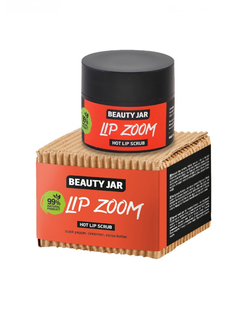 Beauty Jar LIP ZOOM Hot Lip Scrub 15ml at SIS STYLE