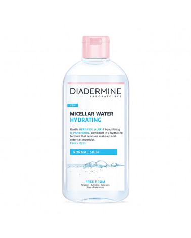 Diadermine Cleanser Micellaire Νερό Καθαρισμού για Πρόσωπο & Μάτια 400ml - SIS