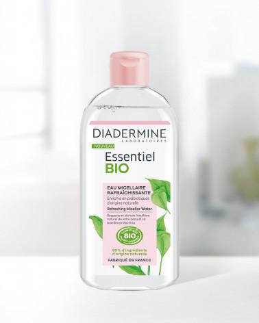 Diadermine Cleanser Essentiel Bio Refreshing Micellar Νερό Καθαρισμού για